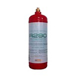 R290A Réfrigérant (propane)  420g connex. 1/4 SAE ( 12 cartouches de 420g  )